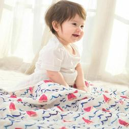 Nursery Bedding Soft Infant Swaddling Sleeping Sheet Bath To