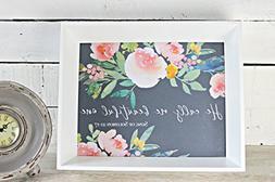 Nursery Bible Verses, Song of Solomon, Floral Nursery Art, B