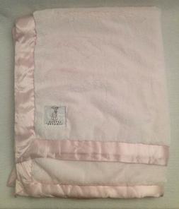 LITTLE GIRAFFE NWOT Pale Pink Luxe Faux Fur Baby Blanket $94