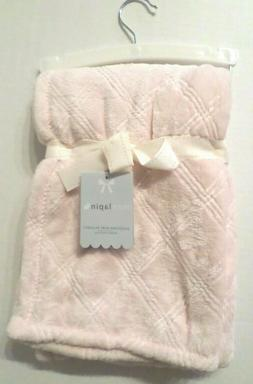 Blankets And /& Beyond Baby Girl Boy Blanket Ivory Bloom Layette Faux Fur Sherpa