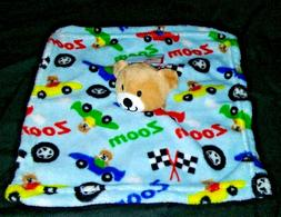 NWT Baby Boy KIDGETS Race Car Lovey Security Blanket ZOOM Be
