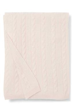NWT  NORDSTROM SIGNATURE BABY Cashmere Cable Knit Blanket