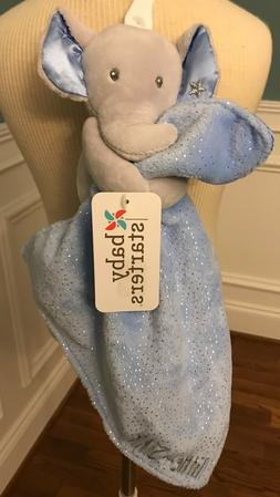 NWT BABY STARTERS BLUE/GREY ELEPHANT SNUGGLE BUDDY SECURITY