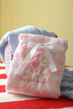 NWT Baby Warm Cozy Soft Fleece  Baby Blanket Size 30 x 40~Ne