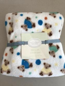 NWT BERKSHIRE SIMPLY DREAM BABY BLANKET 30 x 40 Teddy Bears