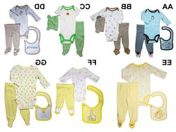 *NWT- CARTER'S - BABY BOY'S 3-PC FOOTED OUTFIT SET - SIZES: