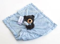 NWT Carter's Black Bear Blue Blanket Boy's Security Blanket