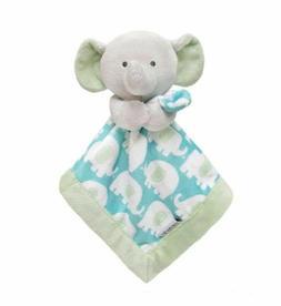 NWT Carter's Neutral Lovey Security Blanket Elephant Green G