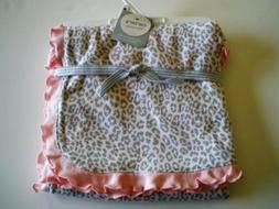 NWT Carters Pink And Gray Grey White Cheetah Polka Dot Baby