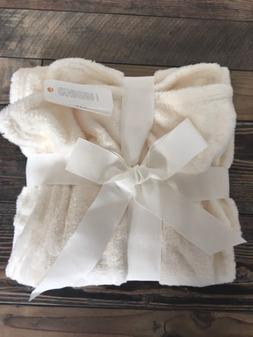 NWT Gymboree Cream Super Soft Baby Blanket Unisex Boy Girl