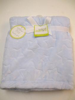 NWT Baby Starters Embossed Star Super Soft Blanket 30x40