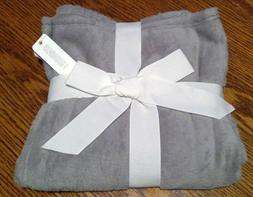 NWT Gymboree Gray Super Soft Baby Blanket Unisex Boy Girl