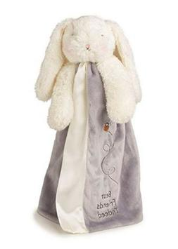 NWT Bunnies by the bay gray white bunny security blanket Bun