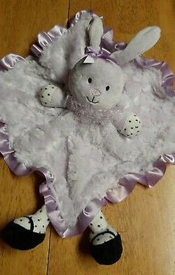 NWT BABY STARTERS Light Purple BUNNY Plush Satin SECURITY BL