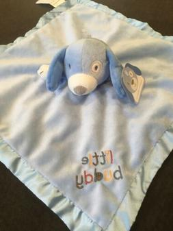NWT Stepping Stones LITTLE BUDDY Blue Puppy Dog Lovey Securi