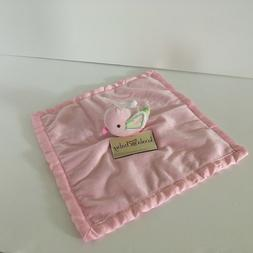 NWT Koala Baby Pink Bird Baby Security Blanket Lovey At Firs