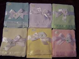 NWT STARTING OUT THERMAL BABY BLANKET Yellow Ivory White Blu