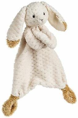 Oatmeal Bunny Lovey Blanket