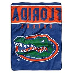 Officially Licensed NCAA Florida Gators Basic Plush Raschel