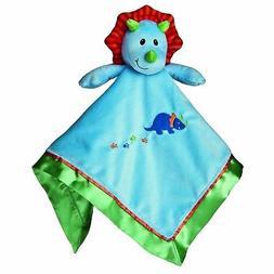 """Mary Meyer Okey Dokey 17"""" Dino Baby Blanket"""