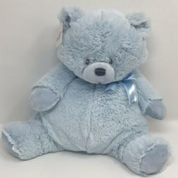 GUND Oliver Blue Bear Plush Toy - 12 Inch - NEW WITH TAGS