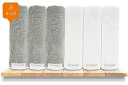 Premium Organic Baby Bath Washcloths, 100% NaturaSoft Bamboo