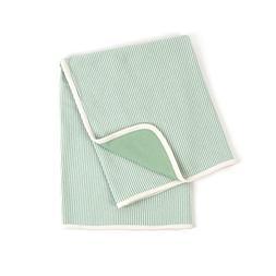 Tadpoles Organic Cotton Double Layer Receiving Blanket, Sage