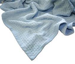 Zoog Organic Cotton Toddler Blanket Natural Dye Premium Qual
