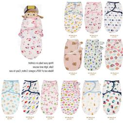 organic cotton new baby infant swaddle easy