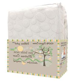 My Little Nest Organic Cotton Quilted Pebbletex Waterproof C