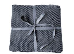 Spring fever 100% Organic Cotton Soft Knitted Premium Throw