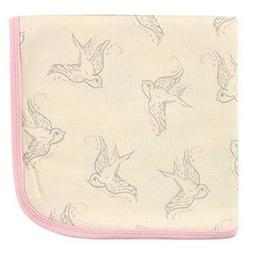 Touched by Nature Organic Receiving Blanket, Bird