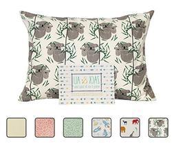 Zack & Ali 100% Organic Toddler Pillowcase , 13 X 18, Made i