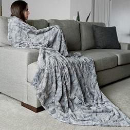 GRACED SOFT LUXURIES Oversized Softest Warm Elegant Cozy Fau