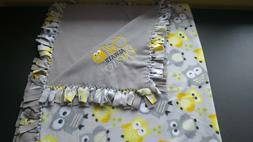 Owl Fleece No Sew Blanket Elephant Tie Blanket Baby Blanket