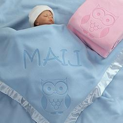 Owl Gifts, Baby Blanket - Boy or Girls Nursery Décor, Toddl
