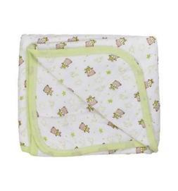 Ozlem Baby Teddy Bear Print Blanket for Baby Girls & Baby Bo