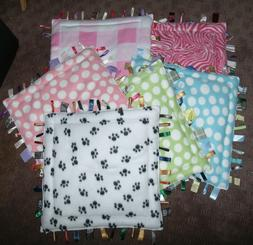 Padded Security Tag Pillow~Blanket - Developmental ~ For Bab