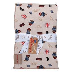 Trend Lab Paddington Bear™ Minky Knit Velvet Baby Blan