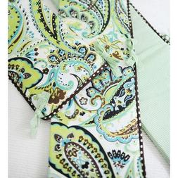My Baby Sam Paisley Splash Bumper, Lime