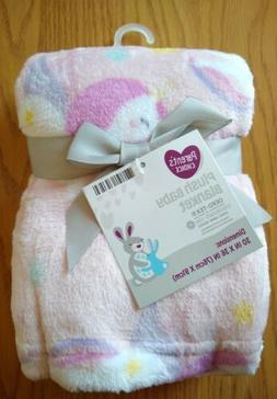 Parent's Choice Baby Blanket Unicorns Infant Lovey Girls Pin