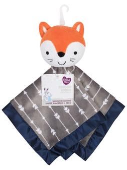 Parent's Choice Baby Boy Security Blanket Buddy Fox NEW Ador