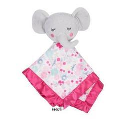 Parent's Choice Baby Girl Pink Elephant Blanket Buddy