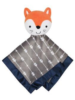 Parent's Choice Baby Navy/Gray Fox Blanket Buddy