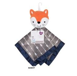 Parent's Choice Baby Navy/Gray Fox Blanket Buddy