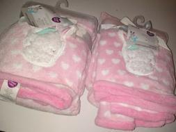 PARENTS CHOICE PLUSH BABY BLANKET PINK UNICORN BABY GIRL 30X