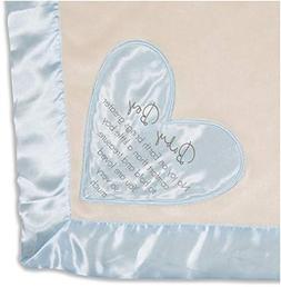 Pavilion - Baby Boy - Blue Silk Edge Royal Plush Baby's Firs