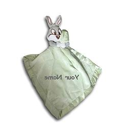 Personalized Baby Looney Tunes Bugs Bunny Baby Blanket Blank