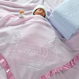 Large Personalized Baby Blanket , Boys or Girls Gifts