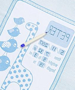 Personalized Baby Blanket Unique Shower Gifts Registry Idea
